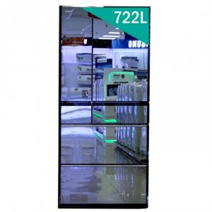 Tủ lạnh Hitachi R-X670GV 6 cửa 722 lít Nhập khẩu Nhật Bản