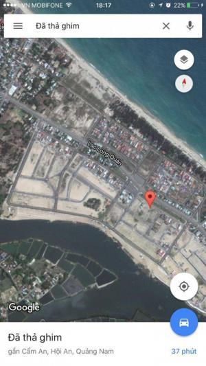 Cần bán gấp lô đất khu TĐC Làng chài Hội An, gần biển Cửa Đại, gần Làng rau Trà Quế