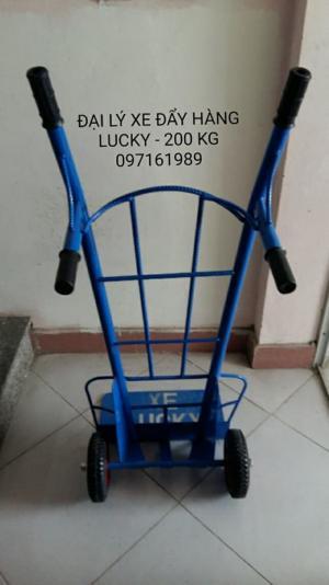 CUNG CẤP PHÂN PHỐI XE ĐẨY HÀNG LUCKY 200 kg