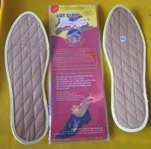 Bán Miếng lót giày QUẾ- sản phẩm cho người tiểu đường, ra mồ hôi chân, bảo vệ tốt đôi chân
