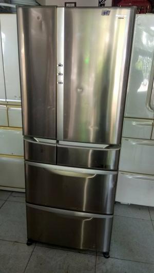 Tủ Lạnh National 445L 6 cửa mặt inox 2006