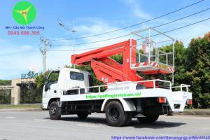 Xe thang nâng người sửa chữa điện 16m