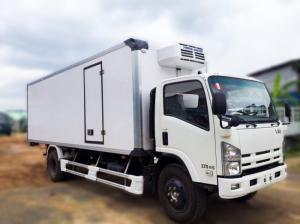 Xe tải đông lạnh ISUZU FN129 tải trọng 7.7 tấn