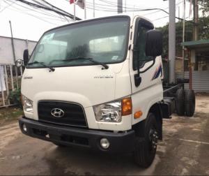 Xe tải Hyundai HD120S thùng mui bạt nâng bửng, 2017