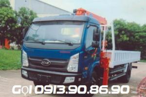 Xe tải Veam VT751 máy Hyundai Gắn Cẩu UNIC