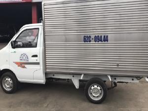 Dongben thung kín 770kg, thùng dài 2.5m euro4