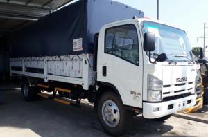 Isuzu VM Vĩnh Phát 8.2 tấn thùng bạt  7.1 met, lắp ráp Việt Nam