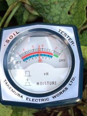 Máy đo pH & độ ẩm đất Takemura