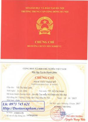 Đào tạo và cấp chứng chỉ Phun thêu thẩm mỹ