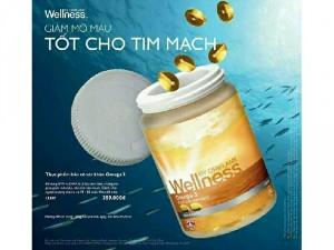 Omega3 sản phẩm bổ sung dinh dưỡng