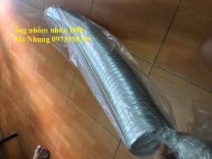 Ống Nhôm Mềm ( ống dẫn khí nóng linh hoạt bằng nhôm ) - hàng nhập khẩu 100% D400,...D150, D100, D120, D80