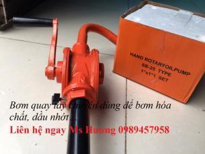 Bơm dầu quay tay Oriental