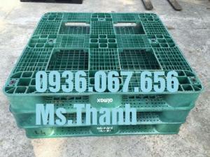 Địa chỉ cung cấp pallet nhựa, pallet nhựa cũ giá rẻ tại Bình Dương