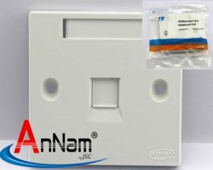 Phân phối mặt vuông WallPlate AMP 1,2 Port chính hãng hàng có sẵn tại kho ANC
