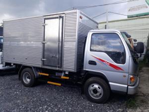 Xe tải jac 2.4 tấn thùng dài 3m7 vào thành phố,đời 2017