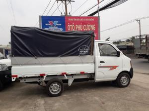 Dongben thùng bạt 810kg, màu xanh máy lạnh, thùng 2.5m