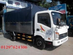 Xe tải veam 1.25 tấn thùng bạt