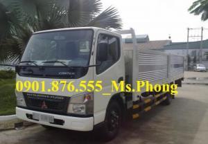 Bán xe tải Fuso 1t9/1,9T, 1 TẤN 9  thùng lửng-giá tốt nhất thị trường-giao ngay.