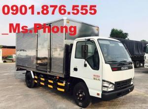 Xe Isuzu 1T9/1,9T/ 1 ,9 tấn/ 1 TẤN 9 thùng kín đời 2017-tặng 50 triệu-đại lý xe tải uy tín tại miền Nam.