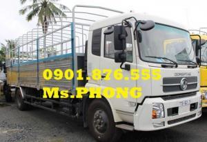 Xe tải Dongfeng 9T35/9,35T/ 9 TẤN 35 thùng mui bạt giá tốt- trả trước 5%- thủ tục nhanh chóng.