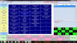 Phần mềm hỗ trợ - quản lý bán hàng- tính tiền – order thức ăn đồ uống cho các quán ăn, trà sữa, khu resort