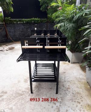 Bếp nướng khung thép dùng ngoài trời Acter Tree CK350, bếp nướng gia đình Việt