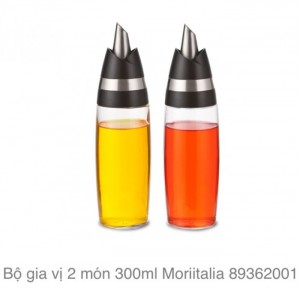 Bộ gia vị 2 món 300ml Moriitalia, hàng Italia
