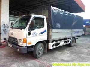 xe tải Hyundai Hd99 6,5 Tấn Hổ trợ vây