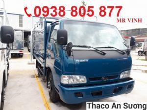 Giá xe tải Kia 2.4 tấn, bán xe tải Kia 2.4 tấn Trường Hải, xe tải 2.4 tấn Kia K165S vào thành phố