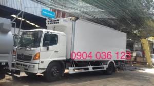 Xe tải đông lạnh Hino FG 8 tấn, xe đông lạnh hino 8t,xe tải bảo ôn hino 8t,xe tải hino bảo ôn 8t