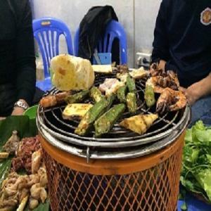 Bếp nướng than hoa cỡ nhỏ Nam Hồng BN04, bếp nướng chất lượng cao