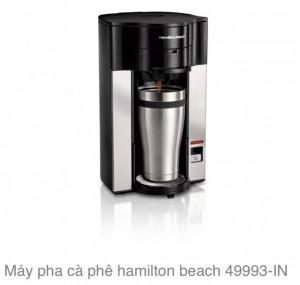 Máy pha cà phê hamilton beach