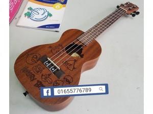 Đàn ukulele siêu đẹp có bảo hành chất lư
