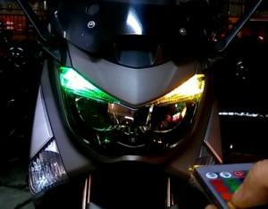 Đèn Led T10 Đổi Màu Theo Remote