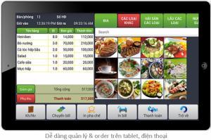 Quản lý nhà hàng quán ăn, quán nướng xiên que, trà sữa, siêu thị shop với ứng dụng phần mềm giá rẻ