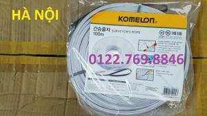 Thước Nhựa Sợi Thủy tinh 100m Komelon Hàn Quốc