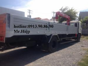 Xe Hino FG gắn cẩu UNIC URV555