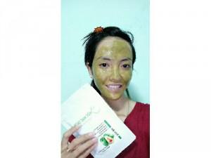 Bột mặt nạ bơ