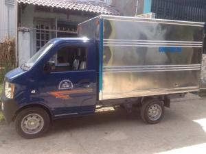 Xe tải cũ Dongben 870kg thùng kín đời 2016 chạy ít giờ bán