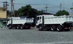 Xe ben Daewoo 15 tấn 10 khối nhập khẩu nguyên chiếc