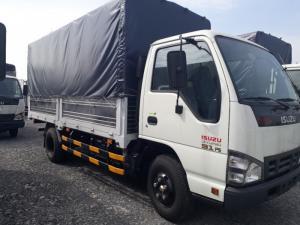 Xe tải Isuzu 2.9 tấn thùng mui bạt, trả trước...