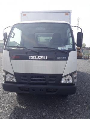 Xe tải ISUZU 2 tấn, thùng kín inox, trả trước 150 triệu, giao xe ngay - Hỗ trợ đóng thùng theo yêu cầu khách hàng