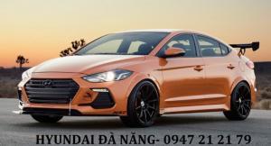 Xe Hyundai Elantra 2018 màu cam - Đà nẵng giá sốc, giảm  giá 80 triệu , rẻ nhất thị trường