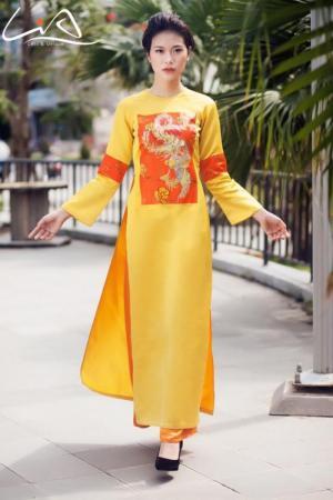 Các mẫu áo dài cưới Sài Gòn