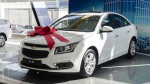 Chevrolet Cruze 2018, vay Ngân Hàng 100%, LS 0%, 100Tr lấy xe