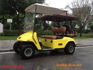 Xe điện du lịch tại Vinhome River Side - Long Biên - Hà Nội