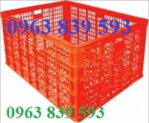 Rổ nhựa HS015 - Rổ nhựa 26 bánh xe giá rẻ./ 0963.839.593 Ms.Loan
