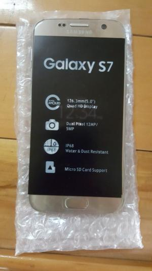 Samsung Galaxy S7 Ram 4GB Rom 32 GB Gold new