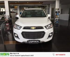 Captiva Revv 2018 - Vay 100% - Bao Hồ Sơ - Km 50 Triệu T1/2018