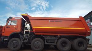 Kamaz 6540 (8x4), Xe ben Kamaz 4 giò thùng ben 14m3 mới 100%